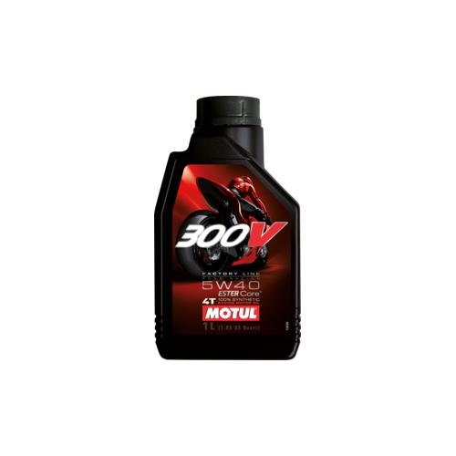 MOTUL 300V 4T FL ROAD RACING 5W-40, 4 литра