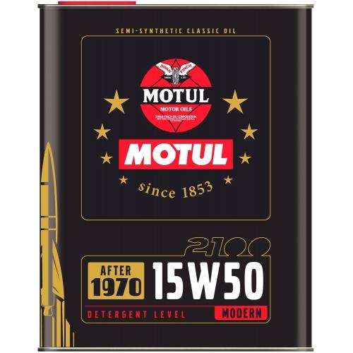 MOTUL Classic Oil 2100 15W-50, 2 литра