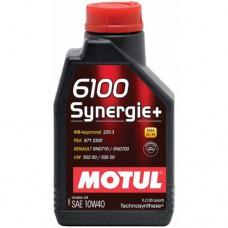 MOTUL 6100 Synergie + 10W-40, 1 литр