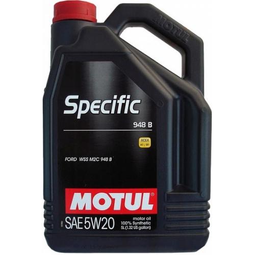 MOTUL Specific 948B 5W-20, 5 литров