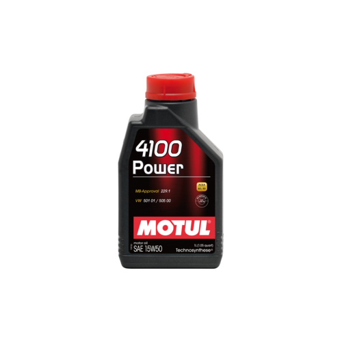 MOTUL 4100 Power 15W-50, 4 литра