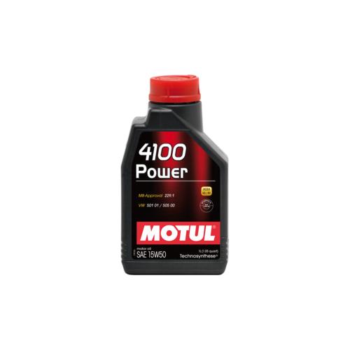 MOTUL 4100 Power 15W-50, 4 литра