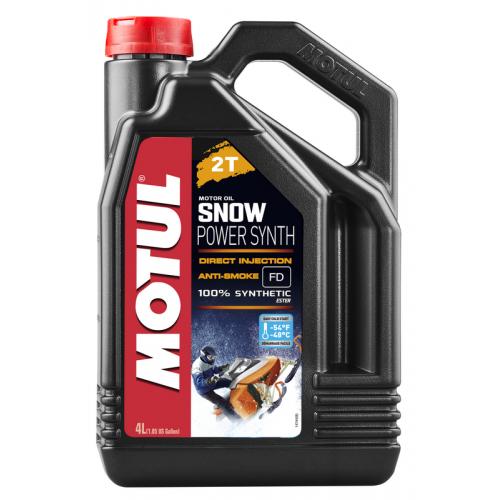 MOTUL Snowpower synth 2T, 4 литра