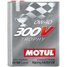 MOTUL 300V Trophy 0W-40, 2 литра