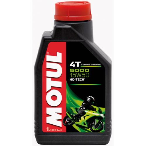 Масло Motul 5000 15W50 4T, 1 литр