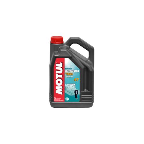MOTUL OUTBOARD TECH 4T 10W-40, 5 литров