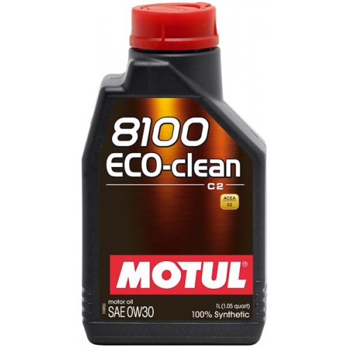 MOTUL 8100 Eco-clean 0W-30, 1 литр
