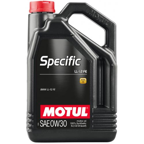 MOTUL Specific LL-12 FE 0W30, 5 литров