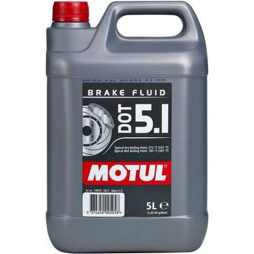 MOTUL DOT 5.1 Brake Fluid, 5 литров