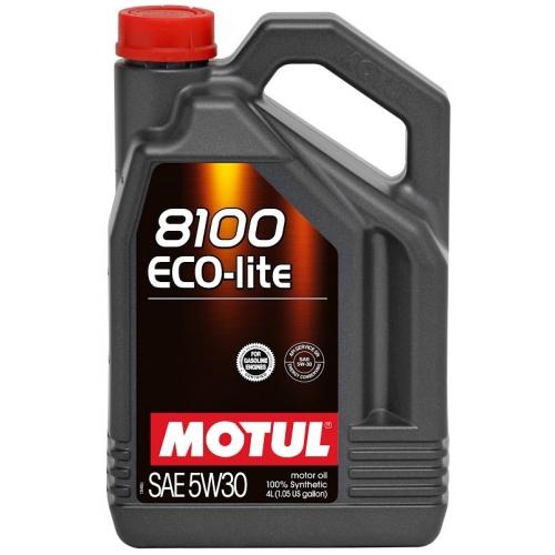 MOTUL 8100 Eco-lite 5W-30, 4 литра