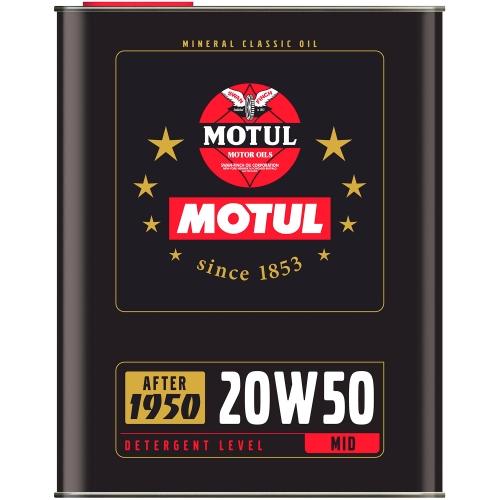 MOTUL Classic Oil 20W-50, 2 литра