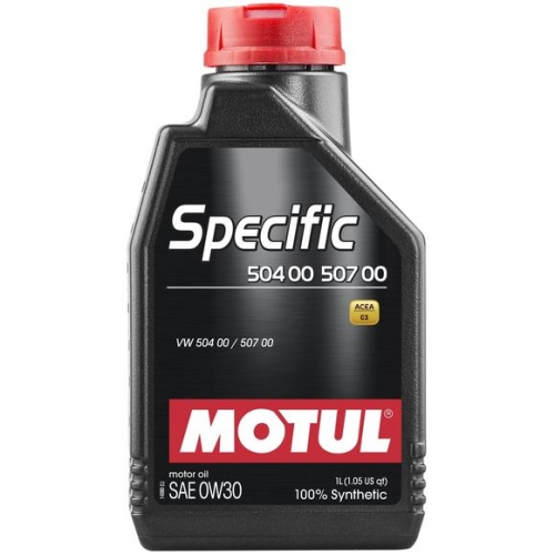 MOTUL Specific 504 00 / 507 00 0W-30, 1 литр