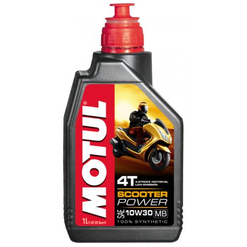 MOTUL Scooter Power 4T 10W30 MB, 1 литр