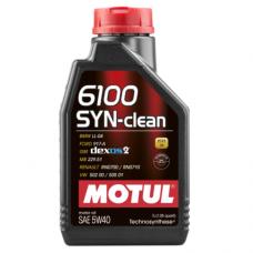 MOTUL 6100 SYN-clean 5w-40, 1 литр