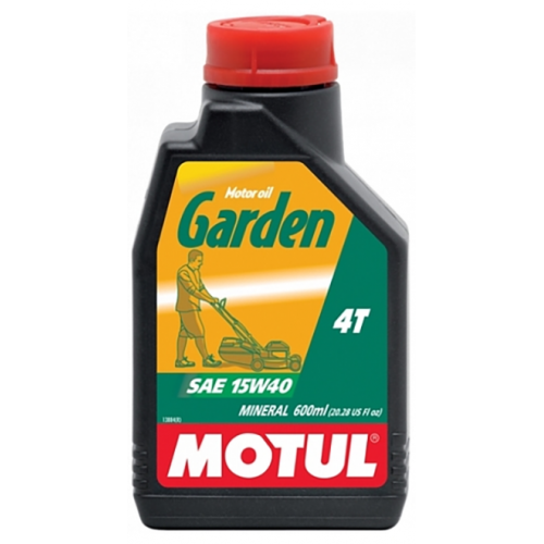 MOTUL Garden 4T 15W-40, 600 мл