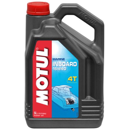 MOTUL INBOARD 4T 15W-40, 5 литров