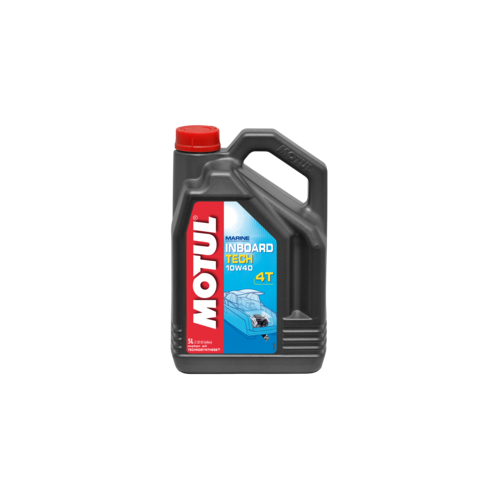 MOTUL INBOARD TECH 4T 10W-40, 5 литров