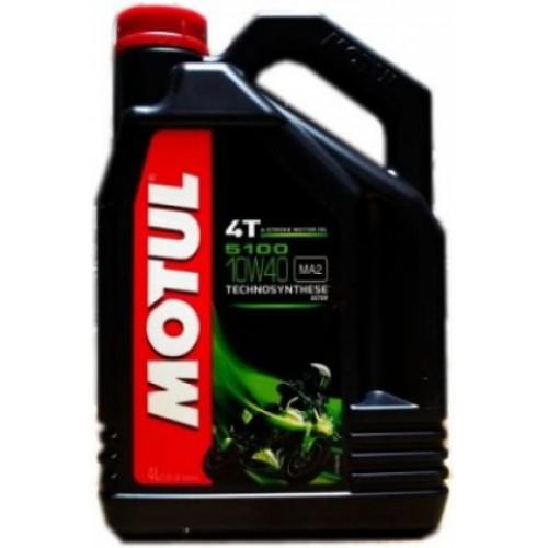 MOTUL 5100 4T 10W-40, 4 литра