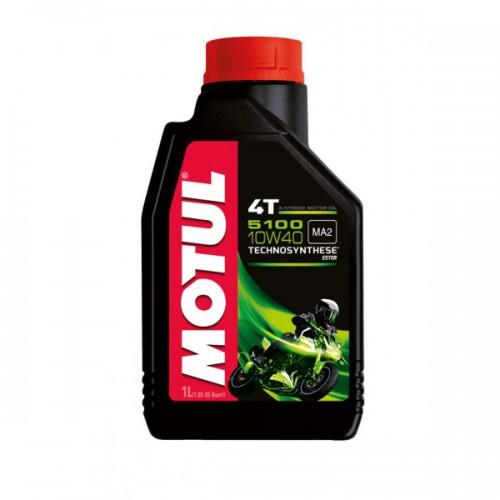 MOTUL 5100 4T 15W-50, 1 литр