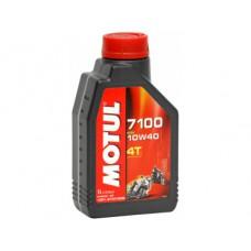 MOTUL 7100 4T  10W-40, 1 литр