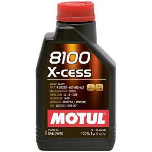 MOTUL 8100 X-cess 5W-40, 1 литр