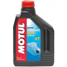 MOTUL INBOARD TECH 4T 15W-50, 2 литра