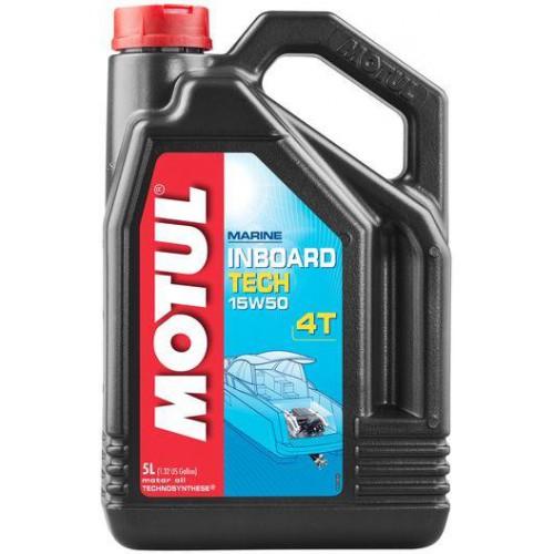 MOTUL INBOARD TECH 4T 15W-50, 5 литров