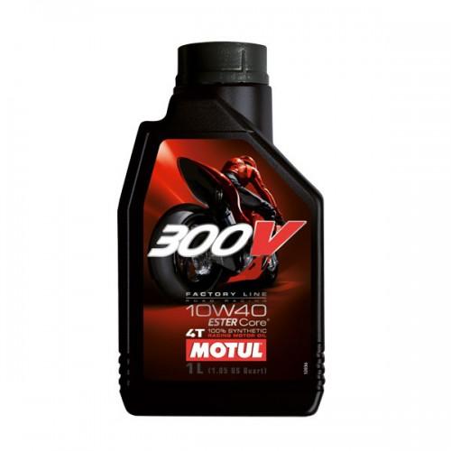 MOTUL 300V 4T FL ROAD RACING 10W-40, 1 литр