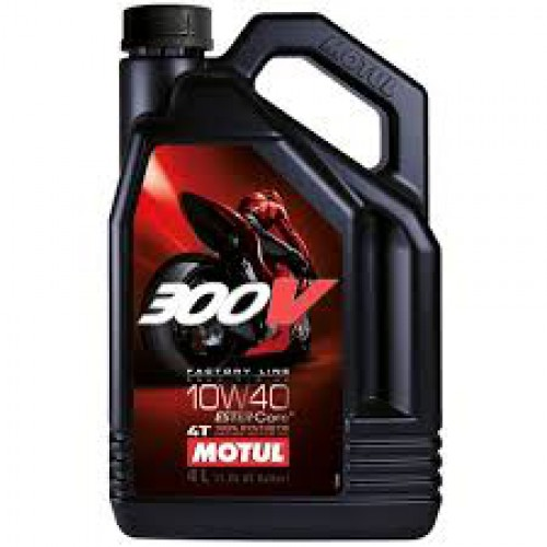 MOTUL 300V 4T FL ROAD RACING 10W-40, 4 литра